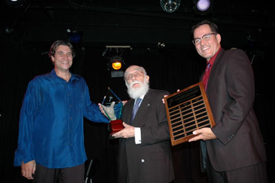 Paul Provenza, James Randi and James Underdown